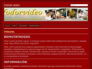 Esküvői szolgáltató: Fodor Videó-Fotó