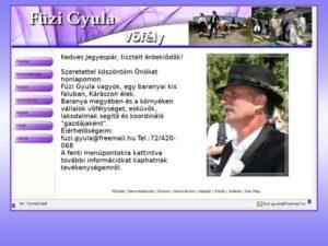 Esküvői szolgáltató: Füzi Gyula Vőfély
