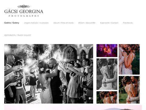 Esküvői szolgáltató: Gácsi Georgina Fotós