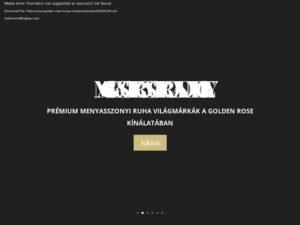Esküvői szolgáltató: Golden Rose Szalon