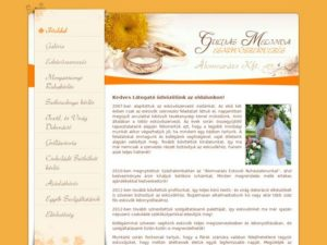 Esküvői szolgáltató: Álomvarázs Kft.