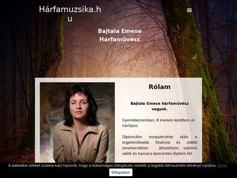 Esküvői szolgáltató: Bajtala Emese Hárfaművész