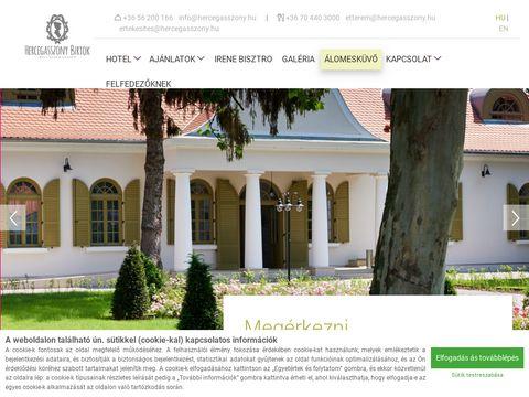 Esküvői szolgáltató: Hercegasszony Birtok