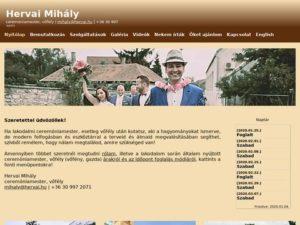 Esküvői szolgáltató: Hervai Mihály Vőfély
