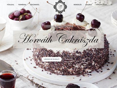 Esküvői szolgáltató: Horváth Cukrászda