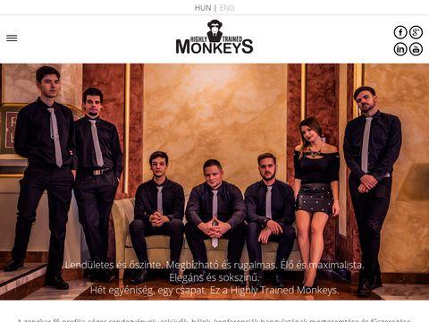 Esküvői szolgáltató: Highly Trained Monkeys zenekar
