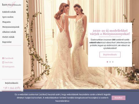 Esküvői szolgáltató: Igen Szalon