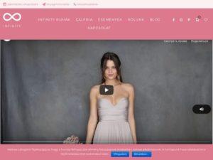 Esküvői szolgáltató: Infinity Ruhaszalon