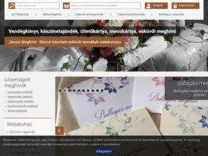 Esküvői szolgáltató: Jánosi Meghívó- Jánosi Szilvia