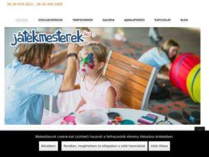 Esküvői szolgáltató: Játékmesterek – Gyerekprogramok rendezvényekre
