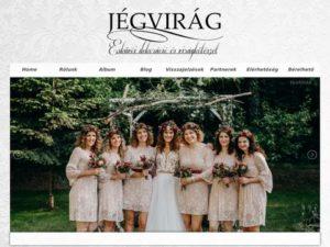 Esküvői szolgáltató: Jégvirág Virág és Dekoráció