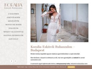 Esküvői szolgáltató: Koralia Szalon