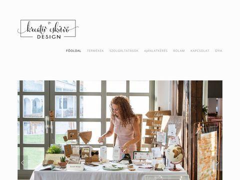 Esküvői szolgáltató: Kreatív Esküvő Design