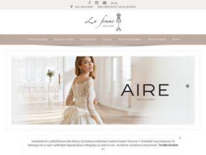 Esküvői szolgáltató: La Femme Esküvői Divatszalon