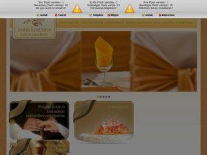 Esküvői szolgáltató: Anna Karolina Lakodalmasház