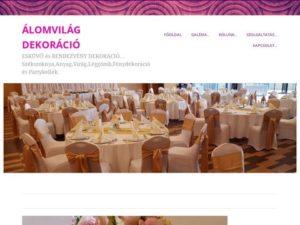 Esküvői szolgáltató: Álomvilág Léggömbdekoráció