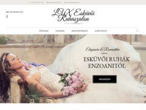 Esküvői szolgáltató: Lux Esküvői Ruhaszalon