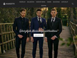 Esküvői szolgáltató: Manzetti férfiöltöny