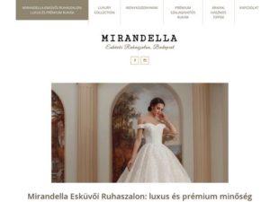 Esküvői szolgáltató: Mirandella Esküvői Ruhaszalon