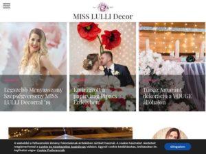 Esküvői szolgáltató: MISS LULLI Decor