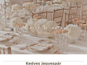 Esküvői szolgáltató: Montée Wedding