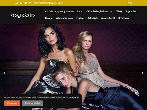 Esküvői szolgáltató: Myrdin Fashion