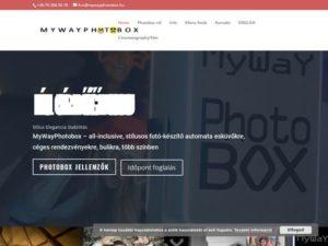 Esküvői szolgáltató: MyWay PhotoBox
