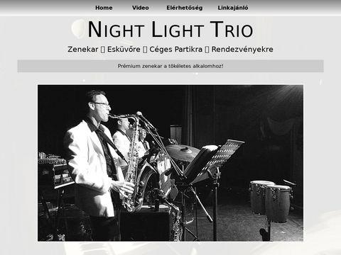 Esküvői szolgáltató: Nightlight Trio