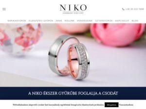 Esküvői szolgáltató: Niko Ékszer