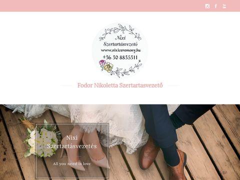 Esküvői szolgáltató: Fodor Nikoletta