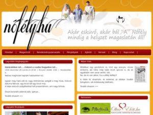 Esküvői szolgáltató: Kajdi Erzsi Nőfély