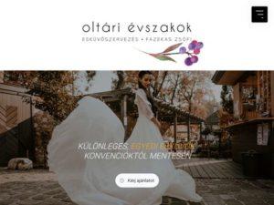 Esküvői szolgáltató: Oltári Évszakok