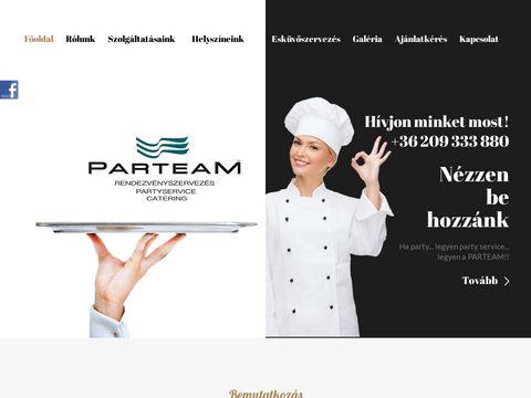 Esküvői szolgáltató: Parteam Catering