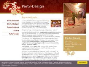 Esküvői szolgáltató: Party-Design