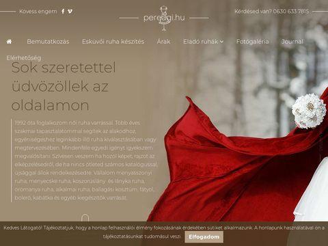 Esküvői szolgáltató: Pere Ági
