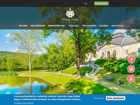 Esküvői szolgáltató: Prónay Kastély
