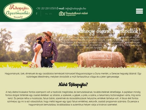 Esküvői szolgáltató: Rétespajta