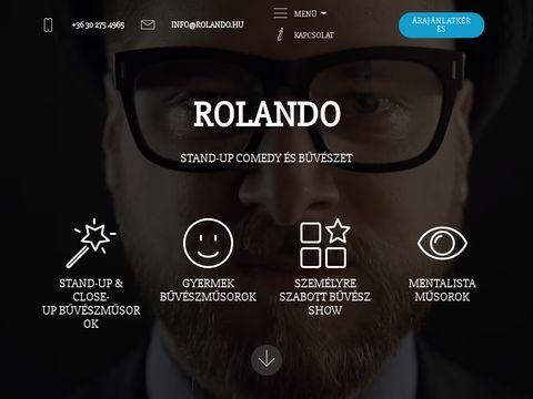 Esküvői szolgáltató: Rolando Magic Show (bűvészműsor)