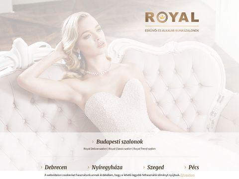 Esküvői szolgáltató: Royal Esküvői és Alkalmi Ruhaszalon Debrecen