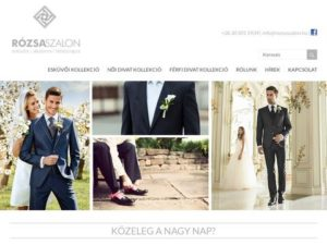 Esküvői szolgáltató: Rózsa Szalon Baja