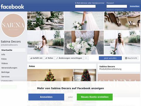Esküvői szolgáltató: Sabina Stedra Exkluzív Dekoráció