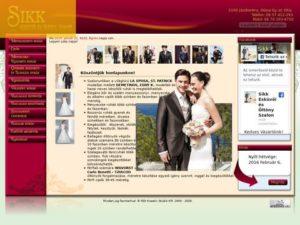 Esküvői szolgáltató: Sikk Esküvői Ruhaszalon