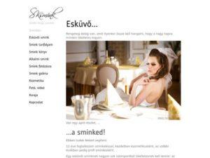 Esküvői szolgáltató: Sksmink