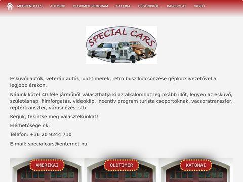 Esküvői szolgáltató: Special Cars Autókölcsönző
