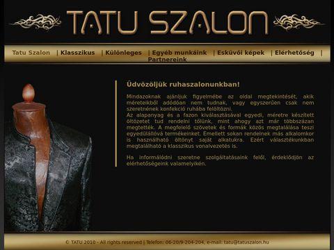 Esküvői szolgáltató: Tatu Szalon