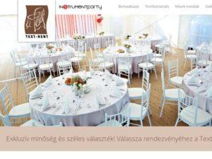 Esküvői szolgáltató: Text-Rent.hu