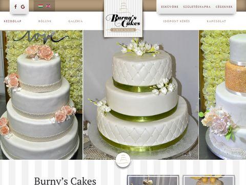 Esküvői szolgáltató: Burny's Cake