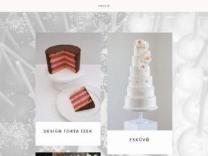 Esküvői szolgáltató: Tortapalota
