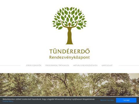 Esküvői szolgáltató: Tündérerdő Rendezvényközpont