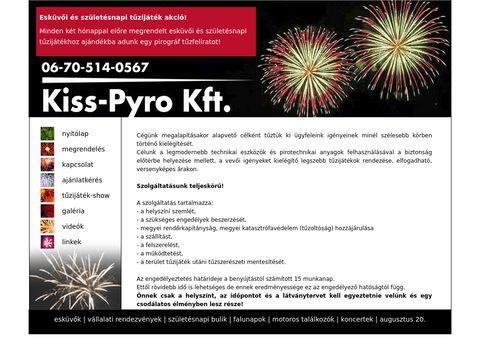 Esküvői szolgáltató: Kis-Pyro Kft